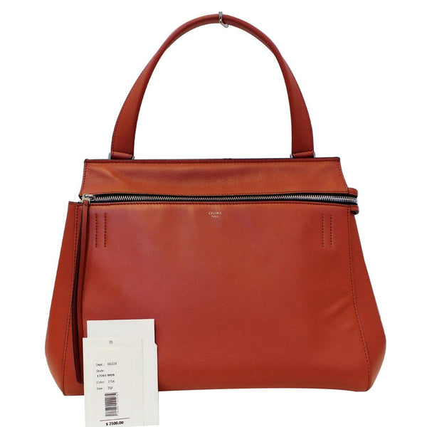 Celine Edge Smooth Calfskin Leather Shoulder Bag