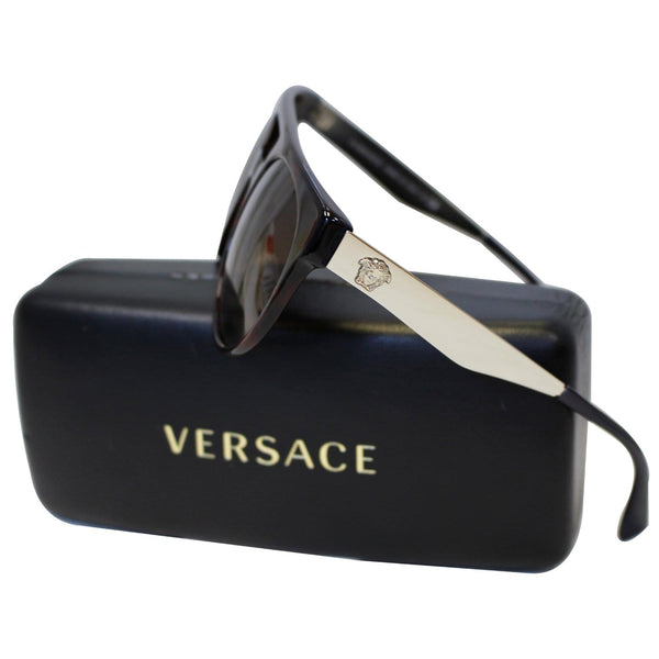 Brown Versace Sunglasses With Brown Frame - On Discount