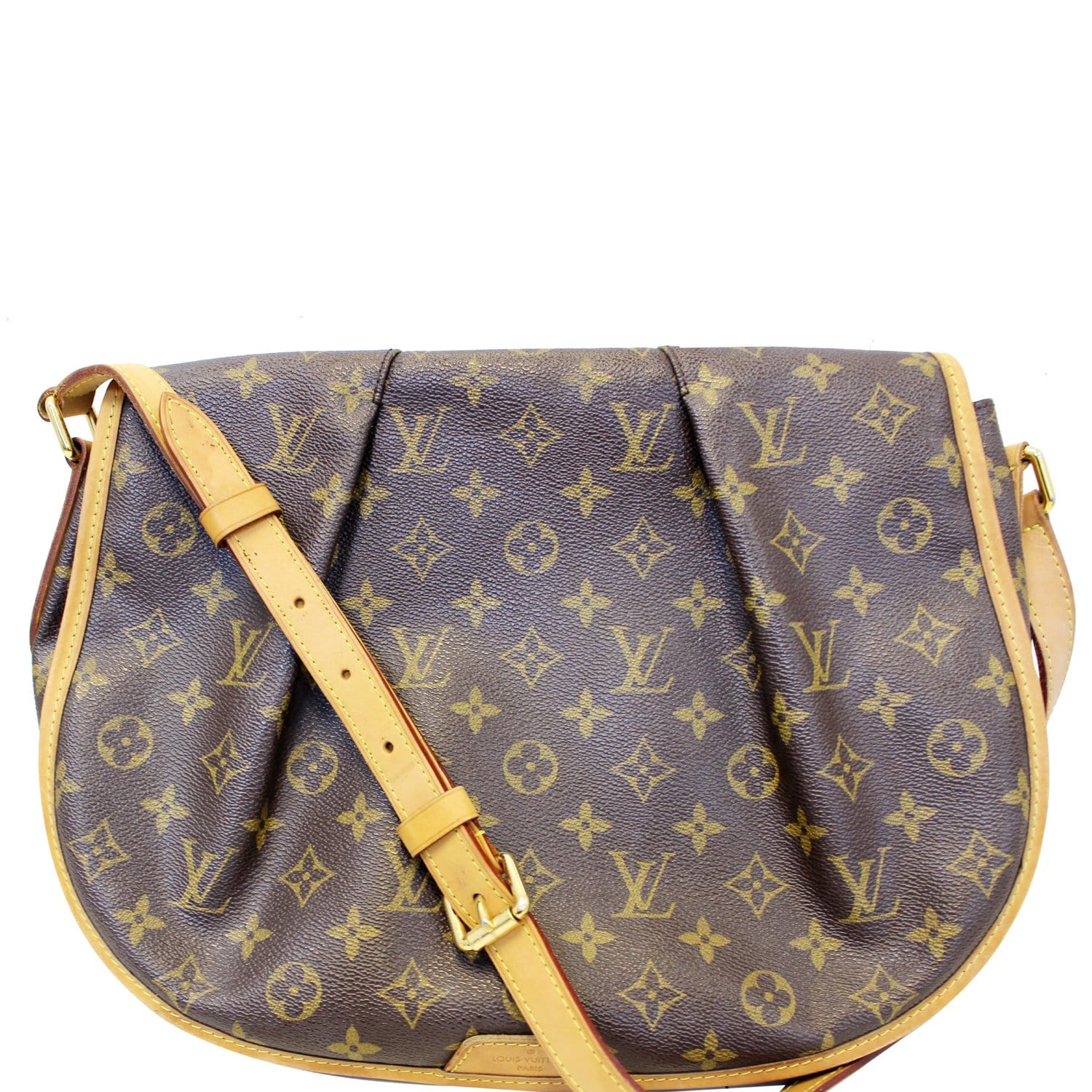 9c38d8cff327 LOUIS VUITTON Menilmontant GM Monogram Canvas Shoulder Crossbody Bag-US