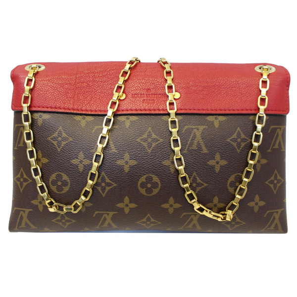 Louis Vuitton Pallas Chain Monogram Canvas Tote Bag chain