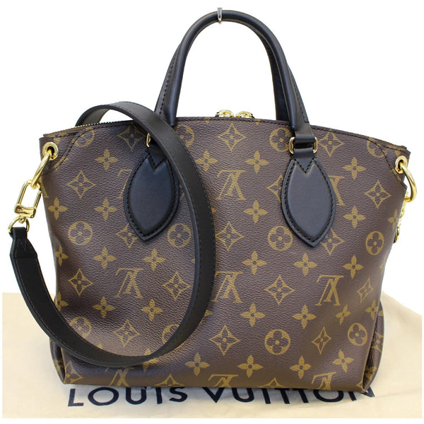 Louis Vuitton Flower Tote Zipped PM Monogram Shoulder Bag leather