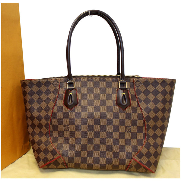 LOUIS VUITTON Caissa MM Damier Ebene Tote Bag-US