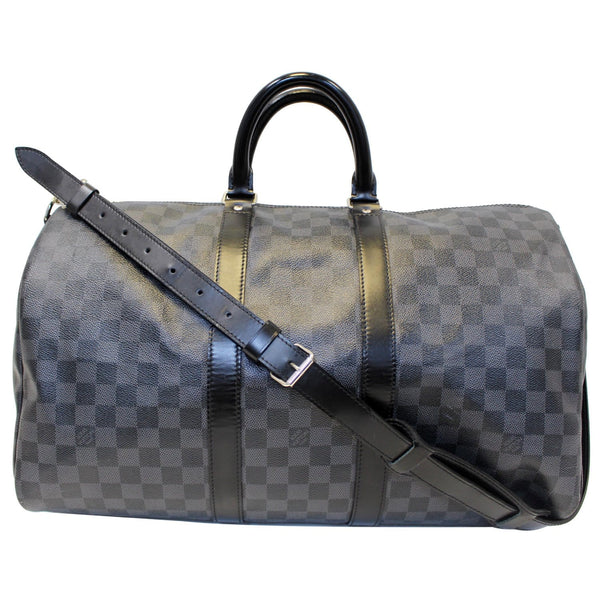 Louis Vuitton Keepall 45 Damier Bandouliere Travel Bag - long strap