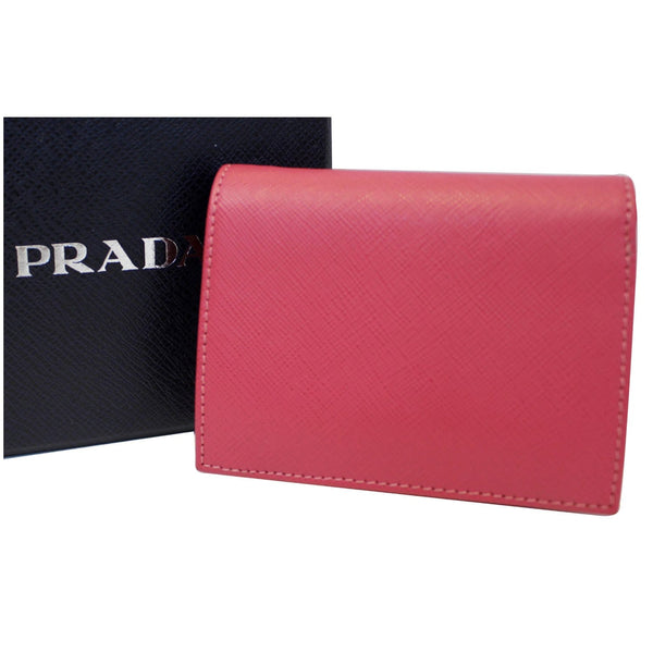 PRADA Saffiano Wallet - with box