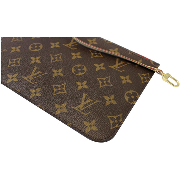 LOUIS VUITTON Pochette Wristlet Pouch Monogram Canvas Neverfull MM/GM-US