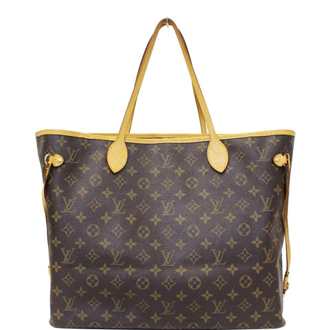LOUIS VUITTON Neverfull GM Monogram Canvas Shoulder Bag
