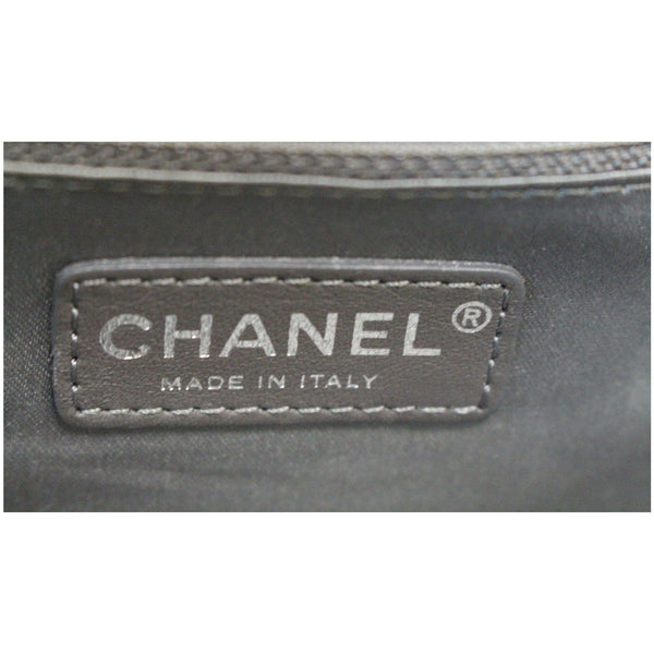 Chanel Square Stitched Lax Lambskin bag made in Italy