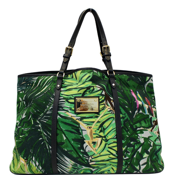 Louis Vuitton Ailleurs Cabas GM Printed Shoulder Bag