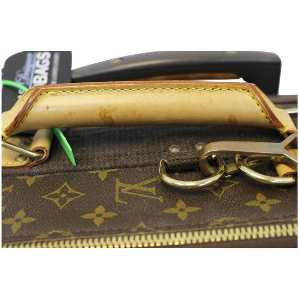 top handle lv Pegase 55 Monogram Canvas Travel Bag