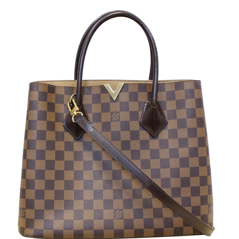 LOUIS VUITTON Kensington Damier Ebene Shoulder bag Brown