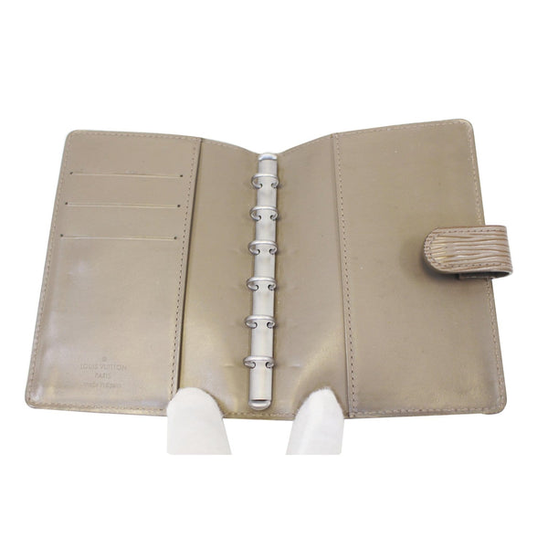 Open Look lv Agenda PM Epi Leather Day Planner Cover