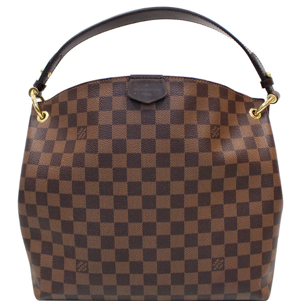 Louis Vuitton Graceful PM Damier Ebene Shoulder Bag