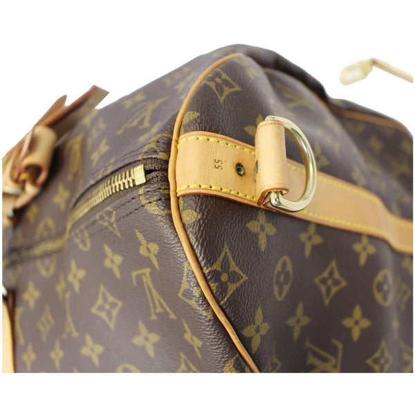 Louis Vuitton Keepall 55 Bandouliere Travel Bag - side view