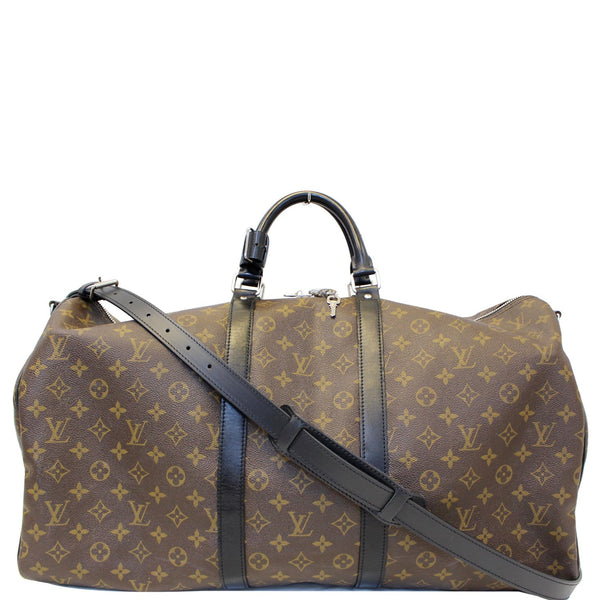 Louis Vuitton Keepall 55 Bandouliere Monogram Travel Bag