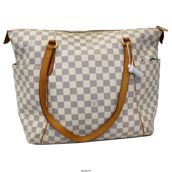 Louis Vuitton Totally GM Damier Azur Tote Shoulder Bag for women