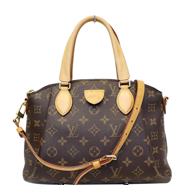 Louis vuitton Rivoli PM Monogram Canvas Shoulder Bag Brown