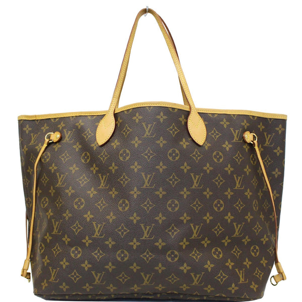 LOUIS VUITTON Neverfull GM Monogram Canvas Tote Shoulder Bag Brown-US
