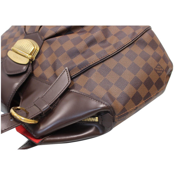 buckle on front Louis Vuitton Sistina GM Shoulder Handbag