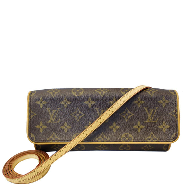 Louis Vuitton Pochette Twin Monogram Canvas Shoulder Bag