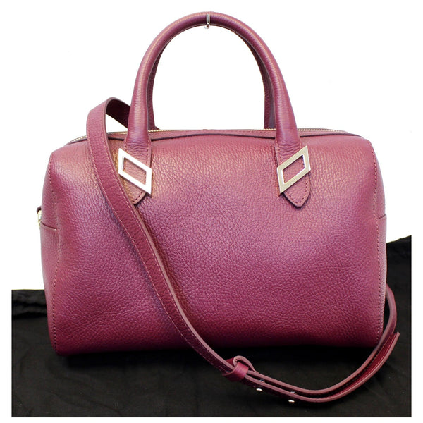 Versace Barrel Shaped Shoulder Bag - Burgundy