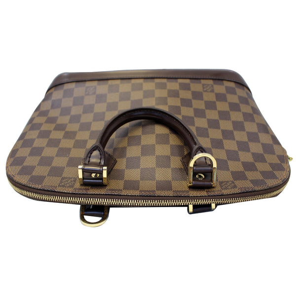 Louis Vuitton Alma PM Damier Ebene Satchel Bag- Strap