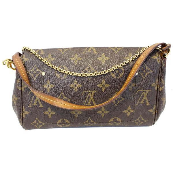 LOUIS VUITTON Favorite PM Monogram Canvas Crossbody Bag Brown-US