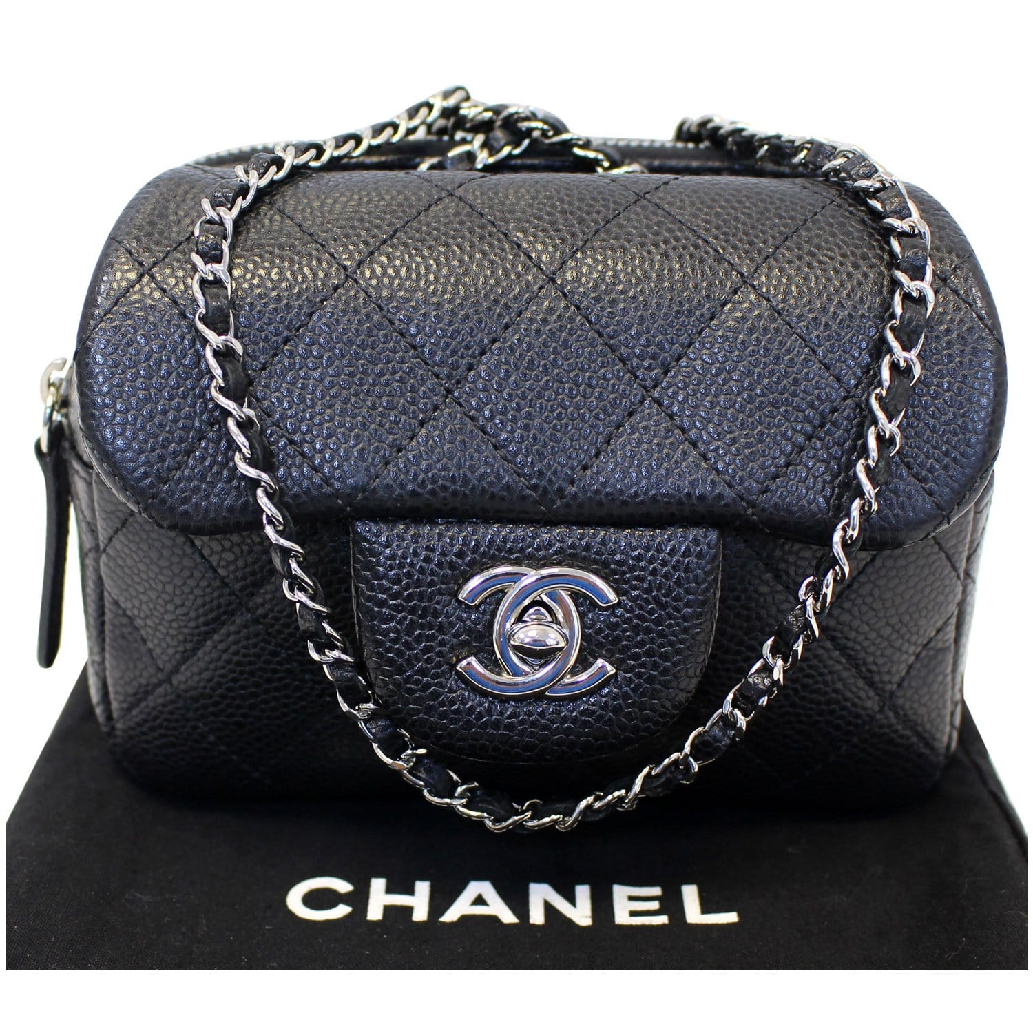 28dde4ca Chanel Classic Mini Flap Quilted Crossbody Bag - front view