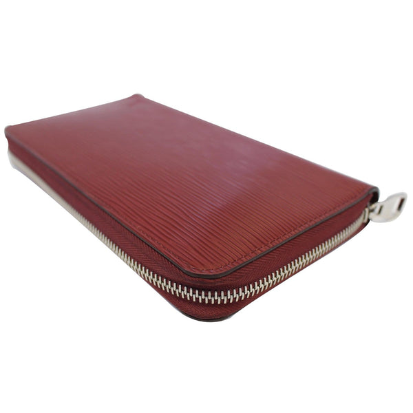 Louis Vuitton Zippy Wallet Organizer Epi Leather Red - discount
