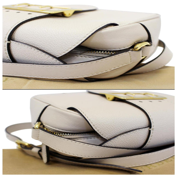 Burberry Crossbody Bag | Burberry Buckle Limestone - side view