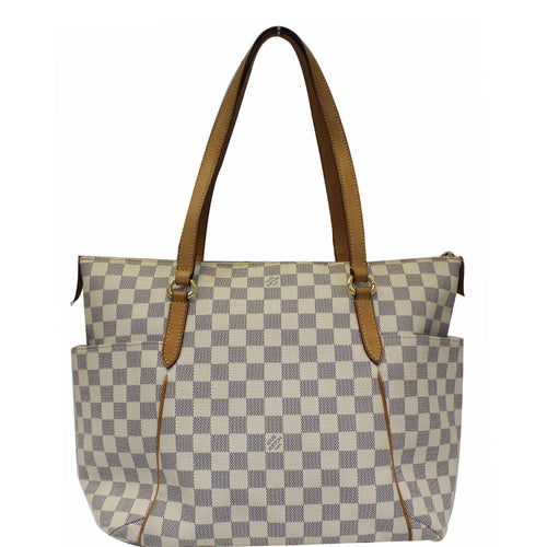 8ff6ca205 LOUIS VUITTON Totally MM Damier Azur Shoulder Bag White · Add to wishlist. Dallas  Designer Handbags