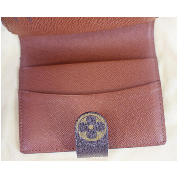 Louis Vuitton Monogram Agenda Notebook Cover opened