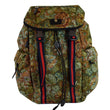 Gucci Floral Brocade Leather Backpack Bag Multicolor