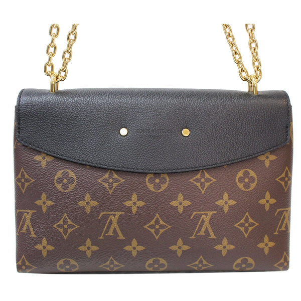 Louis Vuitton Saint Placide Monogram Canvas Bag Women - backside view