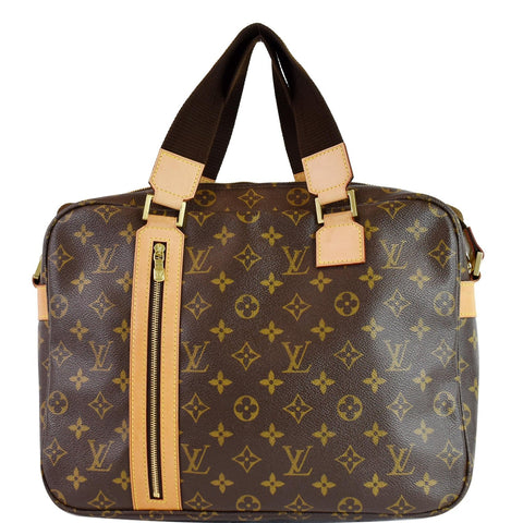 LOUIS VUITTON Sac Bosphore Monogram Canvas Messenger Bag Brown