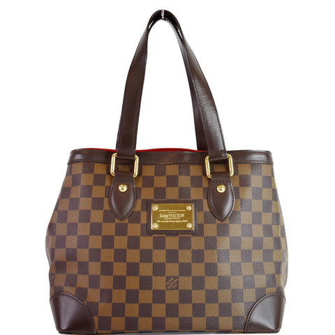 LOUIS VUITTON Hampstead PM Damier Ebene Shoulder Bag Brown