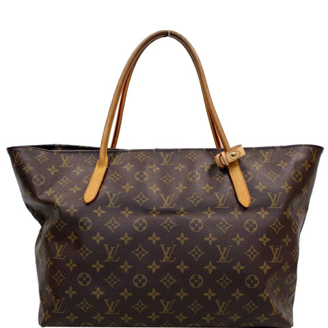 LOUIS VUITTON Monogram Canvas Raspail MM Shoulder Bag Brown