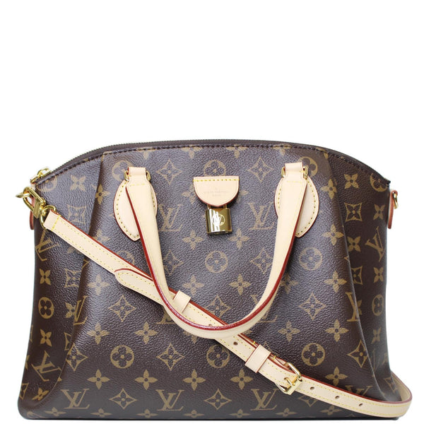 Louis Vuitton Rivoli MM Monogram Canvas 2Way Bag