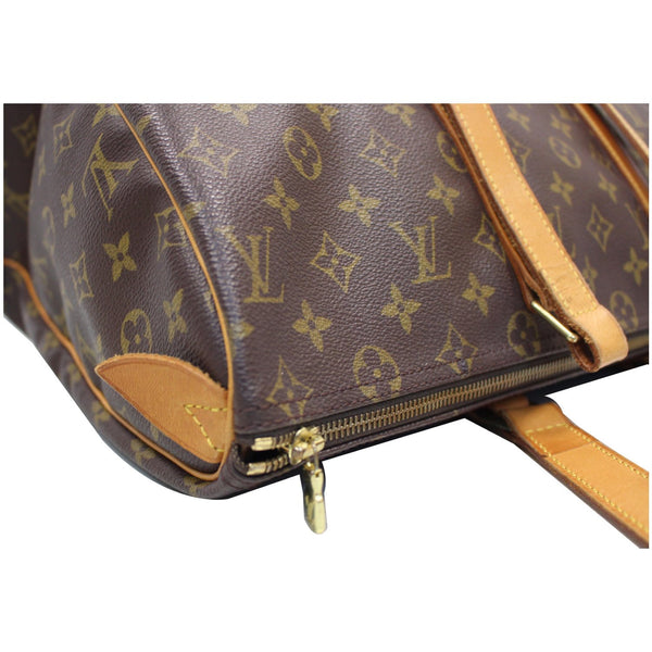 corner lv Sac Flanerie 45 Monogram Canvas Handbag