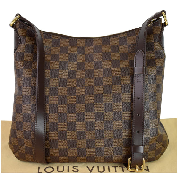 Louis Vuitton Bloomsbury PM Damier Ebene Bag Women - front side