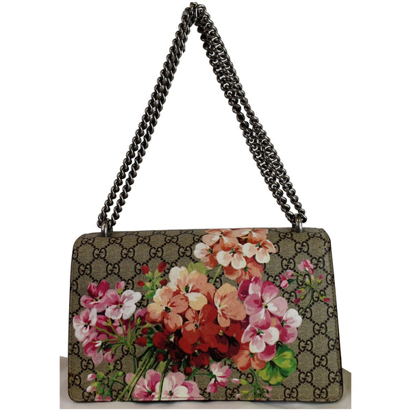 Gucci Dionysus Small GG Blooms Shoulder Bag chain