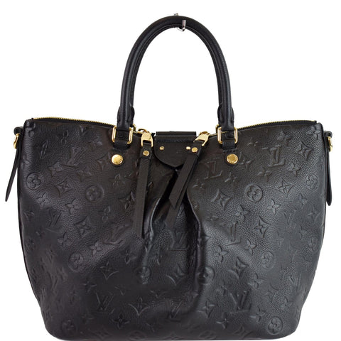 LOUIS VUITTON Mazarine MM Monogram Empreinte Shoulder Bag Black