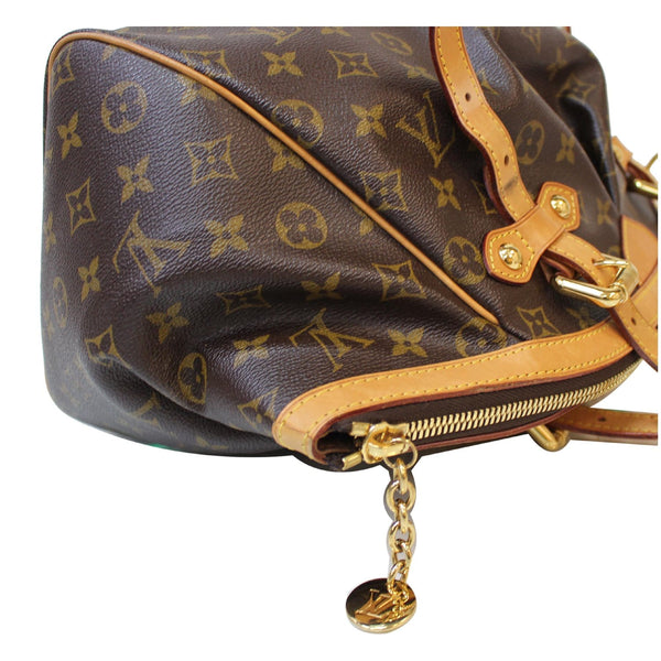 Zip Closure Louis Vuitton Tivoli GM Monogram Canvas Bag