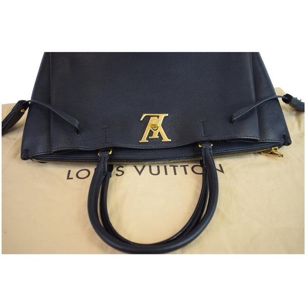 Louis Vuitton Lockmeto Calfskin Leather handle bag