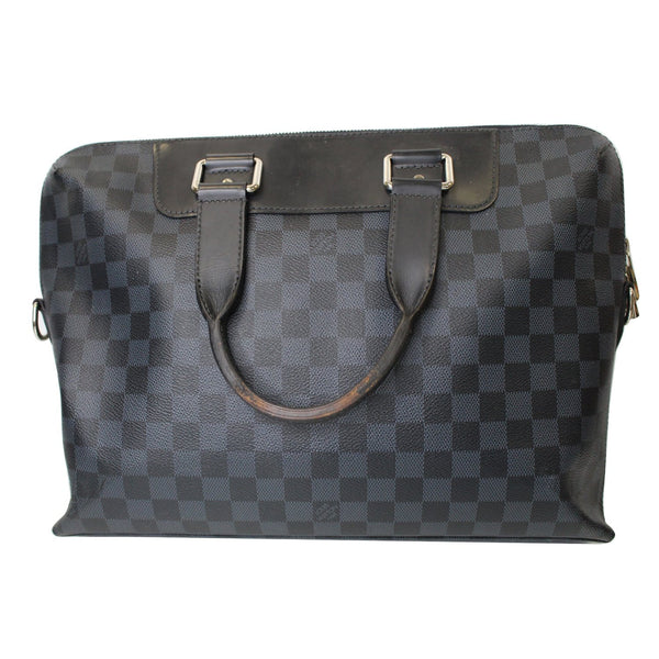 Exterior LV Porte Documents Jour Damier Cobalt Bag