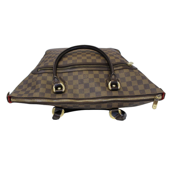 LOUIS VUITTON Saleya GM Damier Ebene Shoulder Handbag Brown