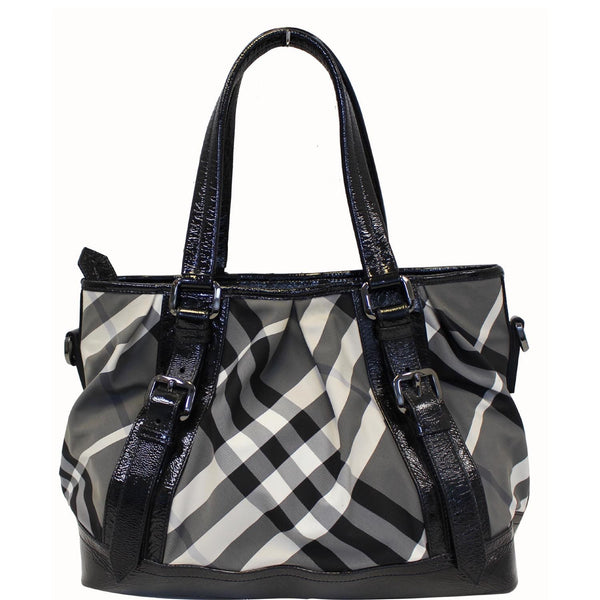Burberry Lowry Tote Bag Beat Check Nylon - Burberry Bags