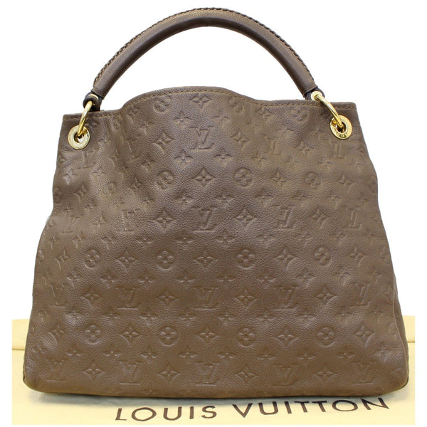 Louis Vuitton Artsy MM Empreinte Leather Bag Front