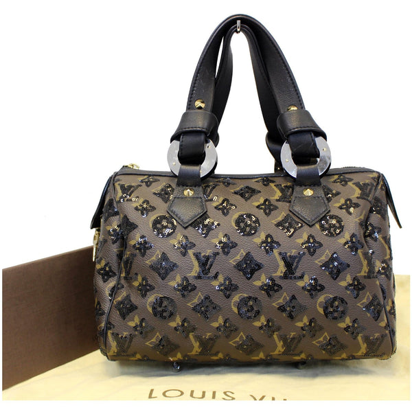Louis Vuitton Speedy 30 Eclipse Sequin Monogram Canvas black