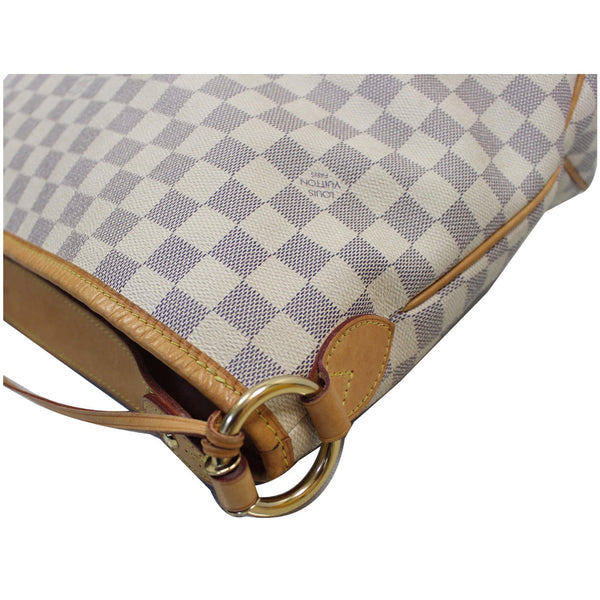 Louis Vuitton Delightful PM Damier Azur Hobo Bag corner
