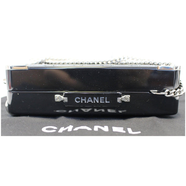 CHANEL Evening In The Air Mini Trolley Minaudiere Crossbody Bag Black